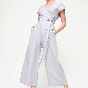 Ariztia - Wilfred Brax Linen Jumpsuit, Size 2